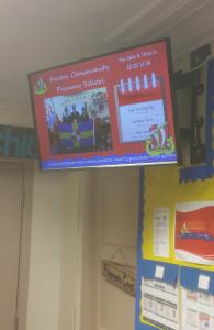 School Digital Display